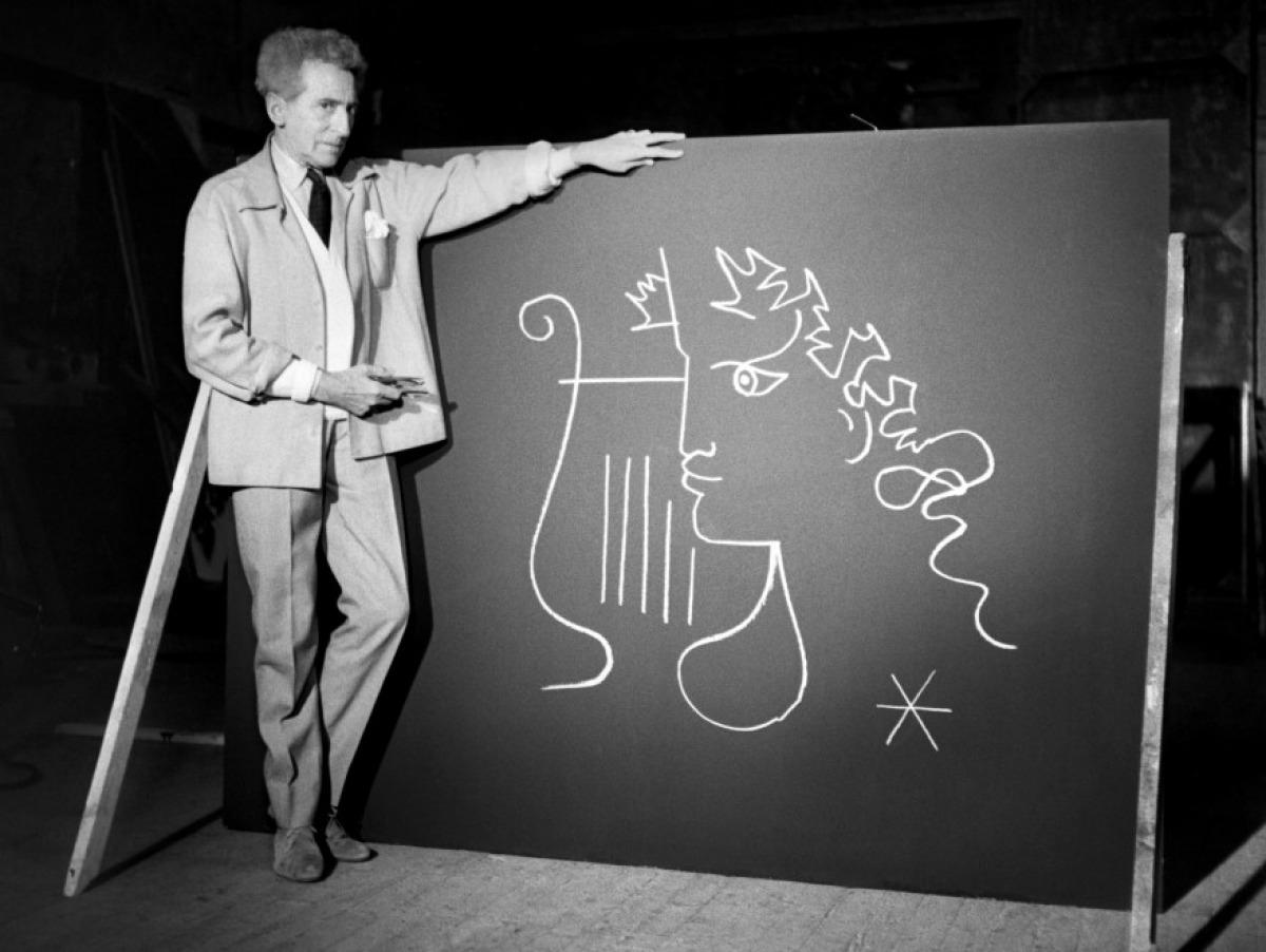 Jean Cocteau Bösendorfer grand piano, Artist Series, Limited edition, One Zen Place, Art and Piano Gallery, Florida, Vero Beach Pianos